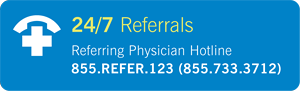 24/7 Referral Hotline