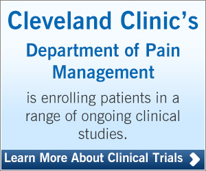Pain Clinical Studies